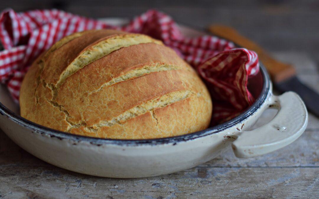 Egyszerű szódabikarbónás kenyér, élesztő nélkül!