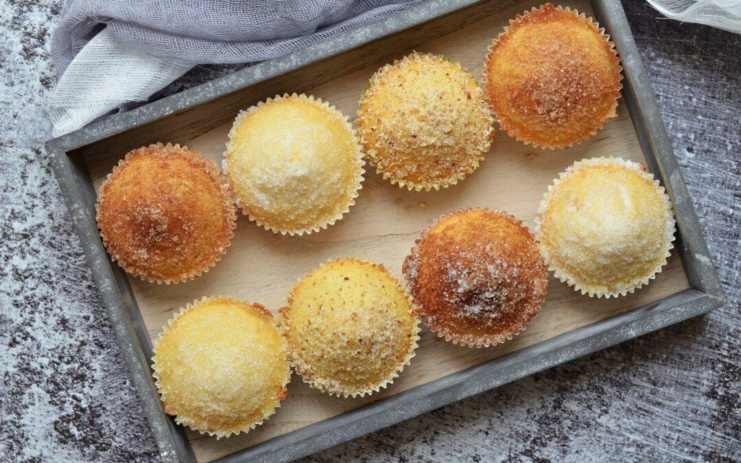 Kürtős kalács muffinok bögrésen