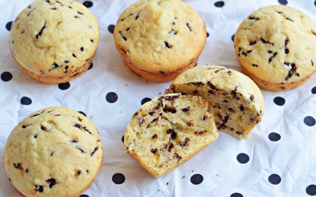 Ötperces bögrés túrós muffin