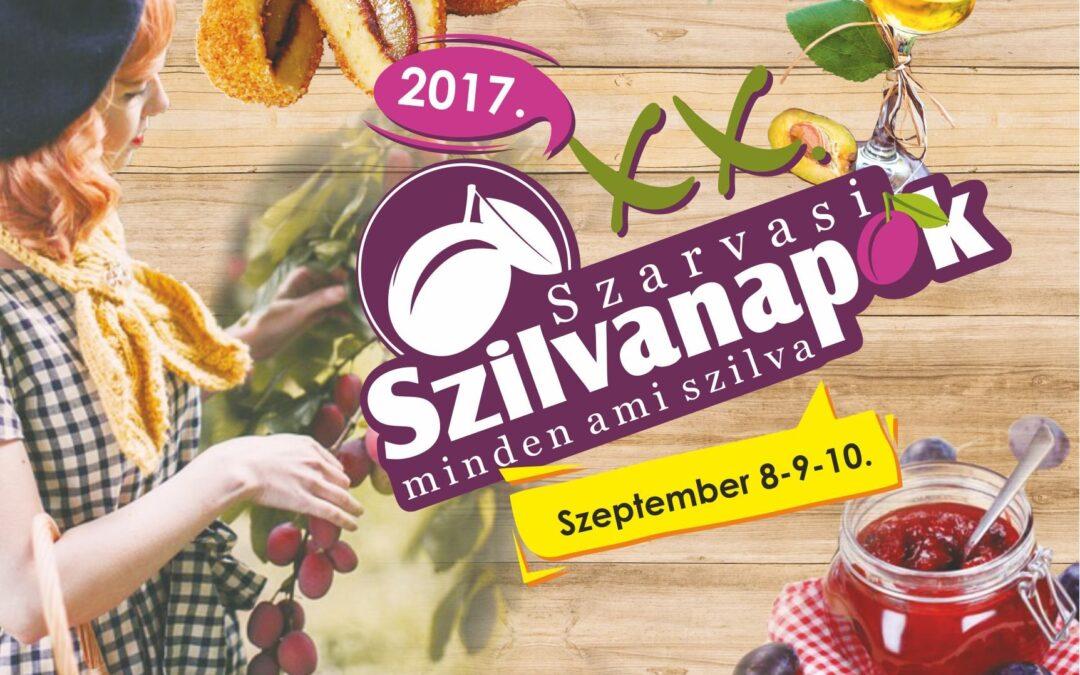Programajánló: Jön a XX. Szarvasi Szilvanapok